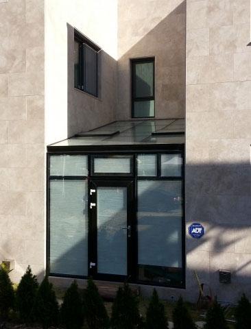 판교 썬룸, 유리온실 시공 사진